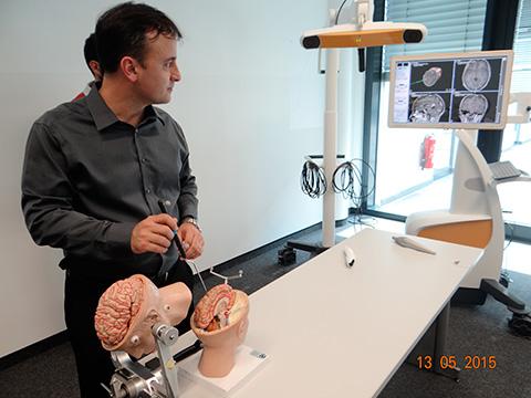 Treinamento em neuronavegação - Munique, Alemanha