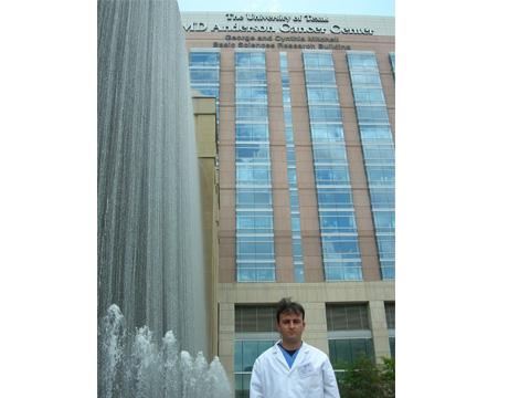Estágio no Hospital MD Anderson - Centro de referência em Oncologia em Houston, EUA